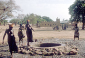 view Women at well, near Sanga, Mali digital asset: Women at well, near Sanga, Mali