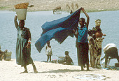 view Women on riverbank, Goundam, Mali digital asset: Women on riverbank, Goundam, Mali