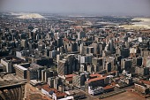view Aerial view of downtown Johannesburg, South Africa digital asset: Aerial view of downtown Johannesburg, South Africa