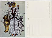 view Ethiopia Ethiopian painting - Abuna G. Menfes Keddus digital asset: Ethiopia Ethiopian painting - Abuna G. Menfes Keddus