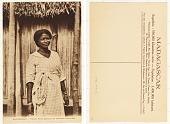 view Madagascar - Femme Antambahoaka en Costume Européen digital asset: Madagascar - Femme Antambahoaka en Costume Européen