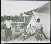 view In the Chokwe country-side A camp digital asset: In the Chokwe country-side A camp
