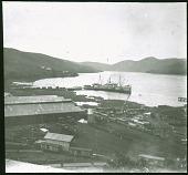 """view At Matadi The ocean ship """"SS Elisabethville"""" digital asset: At Matadi The ocean ship """"SS Elisabethville"""""""