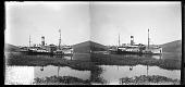 """view At Matadi The ocean ship """"SS Afrique"""" digital asset: At Matadi The ocean ship """"SS Afrique"""""""