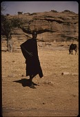 view Dogon man and horse, Sanga region, Mali digital asset: Dogon man and horse, Sanga region, Mali