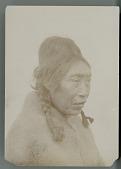 view Kwakiutl Woman (Front) in Wool Blanket; Head Deformation Shown 1895 digital asset number 1