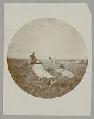 view Five Men? Lying on Grass digital asset: Five Men? Lying on Grass