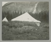 view View of Painted Tent with Tipi JUL 1924 digital asset number 1