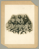 view Portrait of Black Kettle or Moke-Tao-To? and Delegation Of Cheyenne and Arapaho Chiefs 28 SEP 1864 digital asset number 1