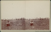 view Issuing Rations to Dakota Indians 18 APR 1882 digital asset number 1