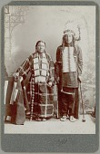 view Portrait of Man and Woman in Native Dress n.d digital asset number 1