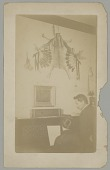 view Francis La Flesche and Alice Fletcher? at the Piano? n.d digital asset number 1