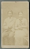 view Portrait of Francis La Flesche and Sister, Susette n.d digital asset number 1