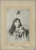 view Portrait of Go-Won-Go Mohawk, Actress, in Costume n.d digital asset number 1