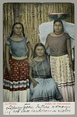 view Three Women, One Wearing Traditional Lace Headdress n.d digital asset number 1