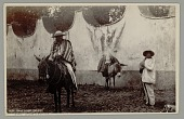 view Two Men with Burro and Horse? or Mule? n.d digital asset number 1