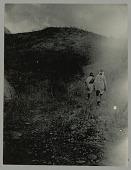 view Two Men Walking in Hills digital asset: Two Men Walking in Hills