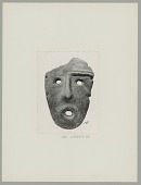 view Stone Mask from Catamarca Province, Argentina digital asset: Stone Mask from Catamarca Province, Argentina