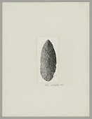 view Stone Knife from Chubut Province, Argentina digital asset: Stone Knife from Chubut Province, Argentina