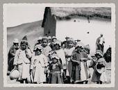 view Children in Native Dress Near School? n.d digital asset number 1