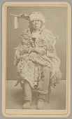 view Portrait of Captain Tom, from Auburn, California, in Partial Native Dress 1874 digital asset number 1