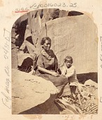 view Woman in Native Dress and with Child 1873 digital asset number 1