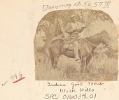 view Man, Scout for Survey, in Military Uniform, with Rifle and On Horseback 1875 digital asset number 1