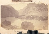 view View of River in Canyon 1871 digital asset number 1