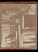 view Group of Biloxi men, women, and children sitting on porch of house, Woodworth, LA n.d digital asset number 1