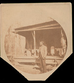 view James Jackson Outside House 1892 digital asset number 1