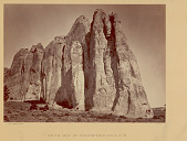 view View of South Side of Inscription Rock 1873 digital asset number 1