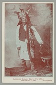view Portrait of Geronimo in Native Dress and Wearing Feather Headdress n.d digital asset number 1