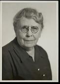 view Portrait (Front) of Frances Densmore, 03 OCT 1949 digital asset number 1