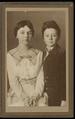 view Portrait (Front) of Woman and young Philip Drucker, undated digital asset number 1