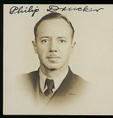 view Portrait (Front) of Philip Drucker, undated digital asset number 1