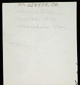 view William Henry Jackson and Delancey W. Gill, 26 NOV 1937 digital asset number 1