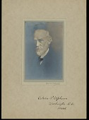 view Portrait (Front) of Edwin P. Upham, 1908 digital asset number 1