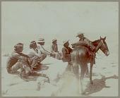 view Six Navajo men with saddled horse Copyright 14 OCT 1901 digital asset number 1