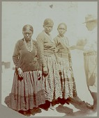 view Three young Navajo women and non-native man Copyright 14 OCT 1901 digital asset number 1