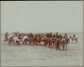 view Group of Navajo Indians on horseback Copyright 14 OCT 1901 digital asset number 1