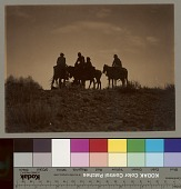 """view """"Evening in the Desert"""" / """"Sunset in Navaho-Land"""" Copyright 06 JAN 1905 digital asset number 1"""