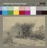 view Navajo Indians outside summer brush arbor Copyright 04 SEP 1906 digital asset number 1