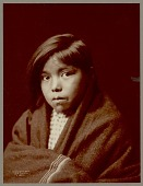 "view ""A Navaho Girl"" / ""Child of the Desert"" Copyright 03 NOV 1904 digital asset number 1"