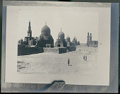 view Three Men in Costume Outside Tombs of the Caliphs (1400-1410 AD) n.d digital asset number 1