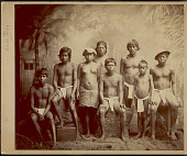 view Portrait of Group in Costume 1887 digital asset number 1