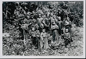 view Amahuaca Group Wearing Face Paint and in Costume JUL 1910 digital asset number 1