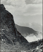 view View of Lampu from Soktsen (Tibet); Half-Frozen Rhododendrons In Foreground 1954 digital asset number 1