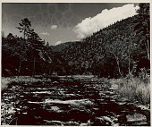 view View of River Between Dahung and Senchong; Aka Area, North; Khowa Area on Opposite Side 1954 digital asset number 1