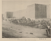 view Camel Caravan with Group of Men in Costume, Approaching City n.d digital asset number 1