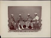 view Portrait of four Delhi bankers 1862 digital asset number 1